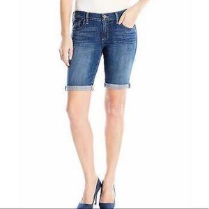 Lucky Brand Bermuda jean shorts size 10